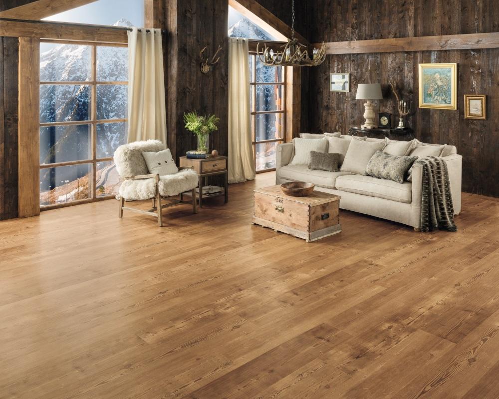 Reclaimed Heart Pine Flooring Somerset